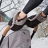 Handwärmer Kinderwagen Handschuhe Handmuff mit warme Fleece und Baumwolle Innenseite Wasserdicht...