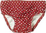 Playshoes Baby - Mädchen Schwimmbekleidung mit UV-Schutz nach Standard 801 und Oeko-Tex Standard 100 , gepunktet 461040 100, Gr. 74/80, Rot (8 rot )