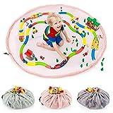 all Kids United Kinder Spielzeug-Beutel Aufbewahrungsbeutel Ø 140cm Spielzeugsack Aufräumsack &...