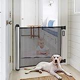 Meinkind Türschutzgitter Treppenschutzgitter Roll, Hundeschutzgitter, Baby Absperrgitter ausziehbar...