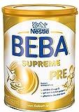 Nestlé BEBA SUPREME PRE Anfangsnahrung: von Geburt an, Pulver, mit Omega 3, 1er Pack (1 x 800g)