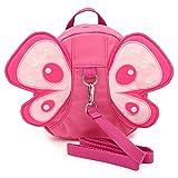 BTSKY Schmetterling mit Flügeln Laufgeschirr Sicherheitsgurt, Zügel, Kleinkind, Kind, Baby,...