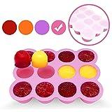 Silikon Babynahrung Aufbewahrung Gefrierbehälter Portionierten Einfrieren von Alle Sorten Babynahrung, Muttermilch, Kräutern, Saucen, Eiswürfeln. Gefrierschrank geeignet