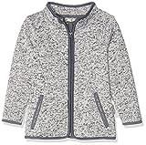 Playshoes Kinder-Jacke aus Fleece, atmungsaktives und hochwertiges Jäckchen mit Reißverschluss, grau, 12-18 Months (Manufacturer Size:86)