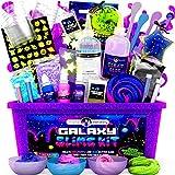 Original Stationery Galaxy Slime Kit mit Glow in The Dark Stars und Schleimpulver für Glitter Slime...