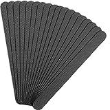 12 Stück Anti Rutsch Streifen Aufkleber Graue Streifen Geformte Badewannen Aufkleber Antirutsch...
