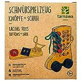Tarnawa Montessori Spielzeug, Holzspielzeug Baby- Geburtstagsgeschenk für Freundin und Junge ab 3...