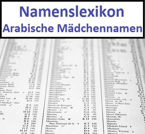 Arabische Maedchennamen