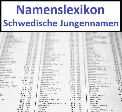Schwedische Jungennamen