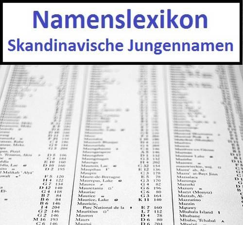 Skandinavische Jungennamen