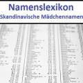 Skandinavische Mädchennamen