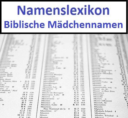 Biblische Mädchennamen
