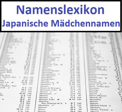 schöne japanische mädchennamen
