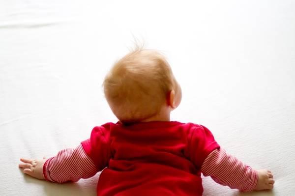 Kopfgneis beim Baby