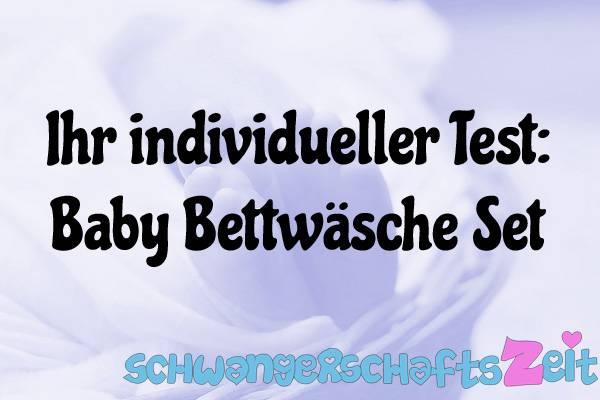 Baby Bettwäsche Set Test Kaufen