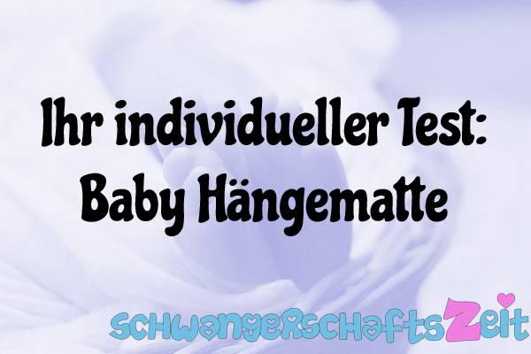 Baby Hängematte Test Kaufen