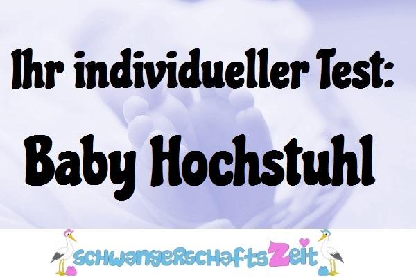 Baby Hochstuhl Test Kaufen