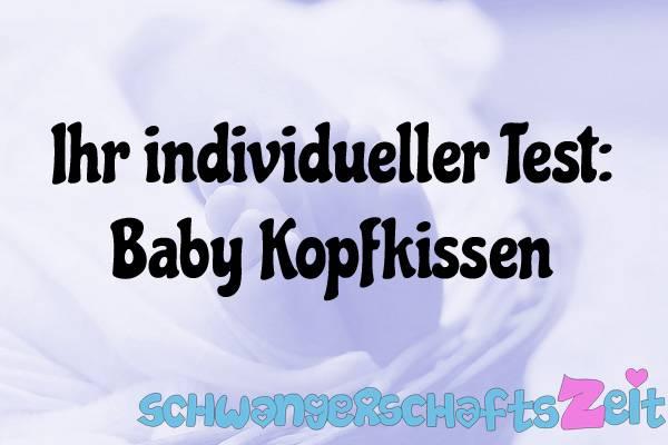 Baby Kopfkissen Test Kaufen