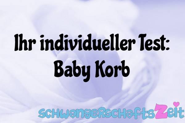 Baby Korb Test Kaufen