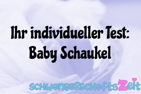 Baby Schaukel Test Kaufen