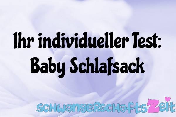 Baby Schlafsack Test Kaufen