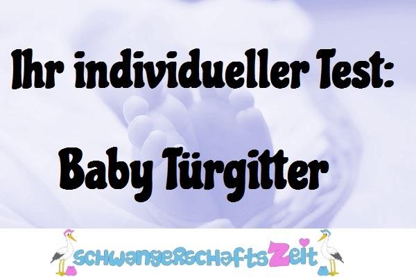 Baby Türgitter Test Kaufen