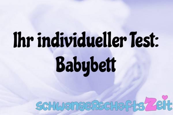 Babybett Test Kaufen