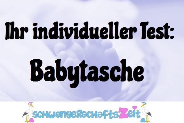 Babytasche Test Kaufen
