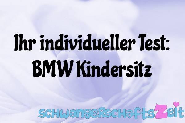 BMW Kindersitz Test Kaufen