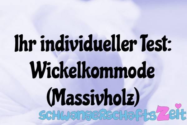 Wickelkommode Massivholz Test Kaufen