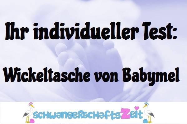 Wickeltasche Babymel Test Kaufen