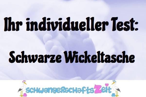 Wickeltasche Schwarz Test kaufen