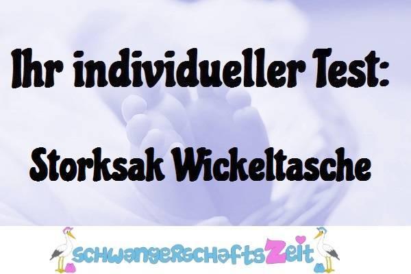 Wickeltasche Storksak Test kaufen