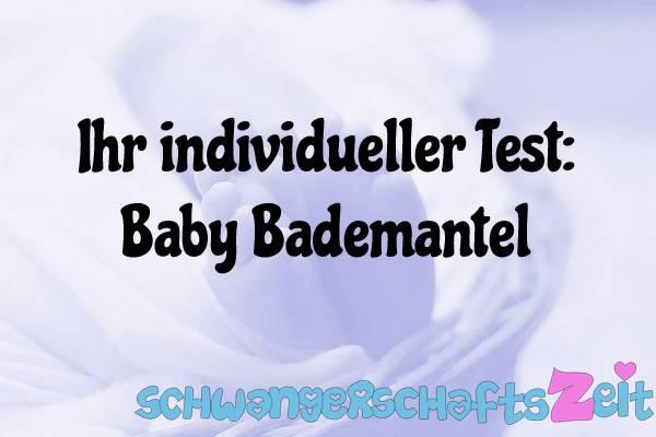 Baby Bademantel Test Kaufen