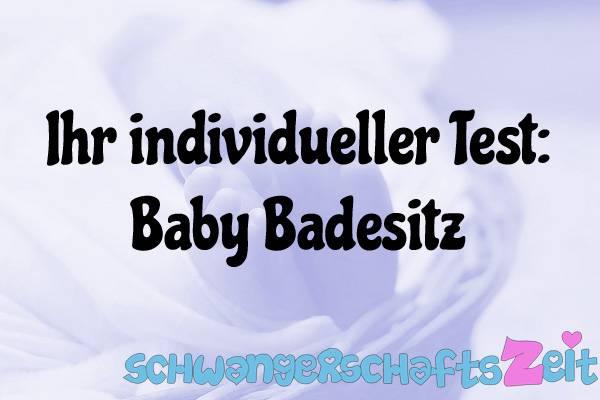 Baby Badesitz Test Kaufen