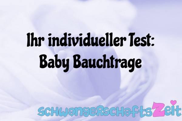 Baby Bauchtrage Test Kaufen