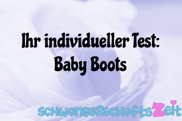 Baby Boots Test Kaufen