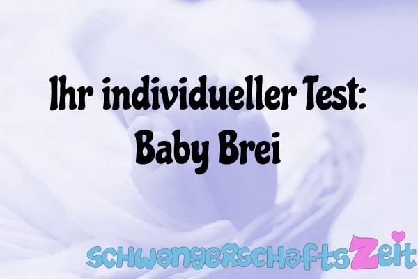 Baby Brei Test Kaufen