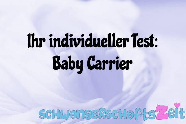 Baby Carrier Test Kaufen