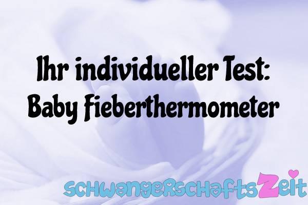 Baby Fieberthermometer Test Kaufen