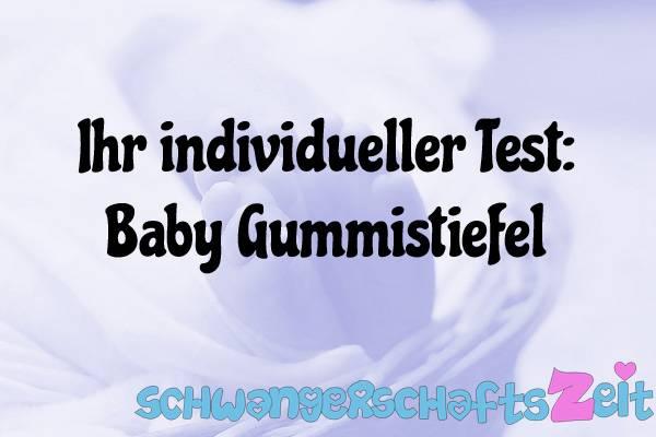 Baby Gummistiefel Test Kaufen