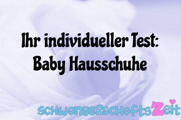 Baby Hausschuhe Test Kaufen