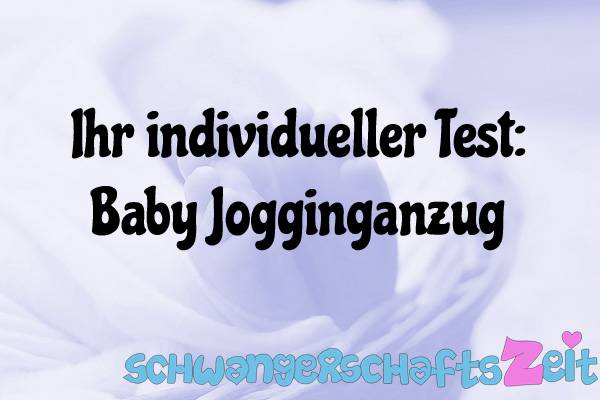 Baby Jogginganzug Test Kaufen