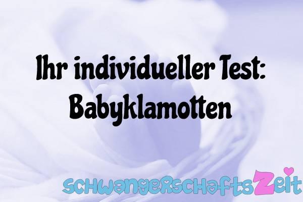 Babyklamotten Test Kaufen