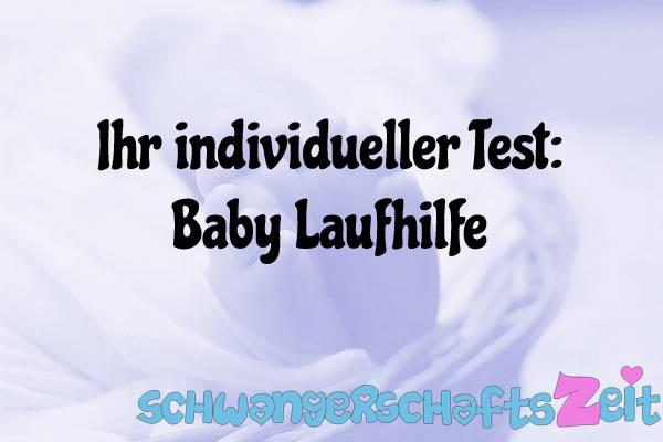 Baby Laufhilfe Test Kaufen