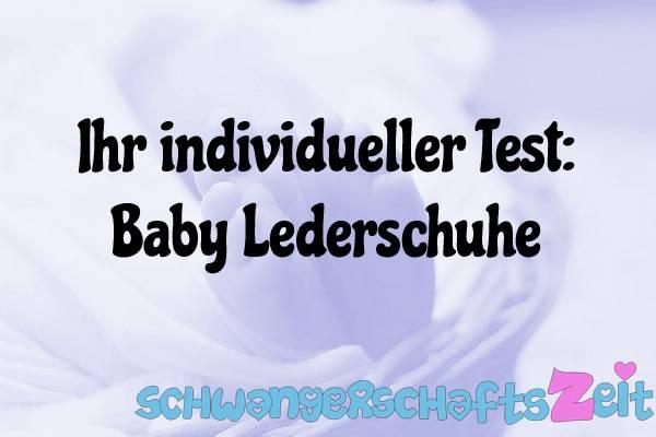 Baby Lederschuhe Test Kaufen