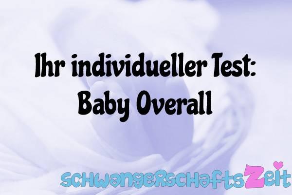 Baby Overall Test Kaufen