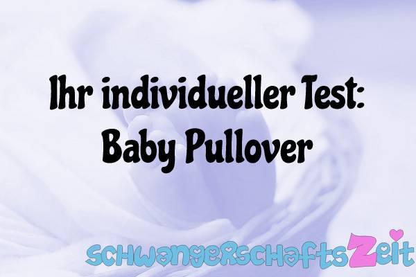 Baby Pullover Test Kaufen