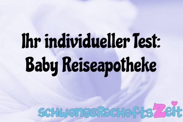 Baby Reiseapotheke Test Kaufen