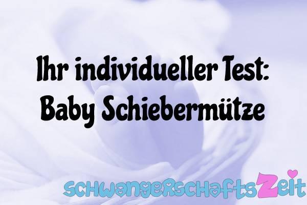 Baby Schiebermütze Test Kaufen